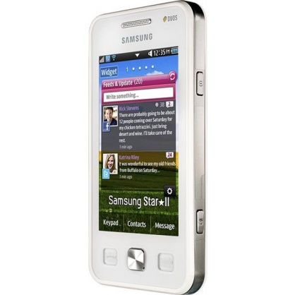 Samsung GT-C6712 Star II DUOS White фото 3